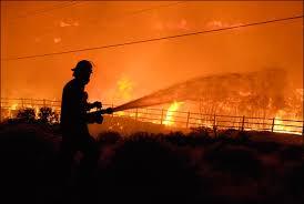 Reno Fire \x26middot; APTOPIX Reno Fire