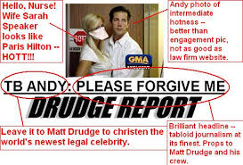Drudge Report TB Andy Speaker