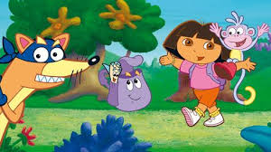 Dora l exploratrice et diego , bébé dino
