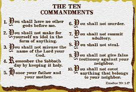 The Ten Commandments - The