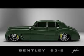 Car Bentley S3 E design concept