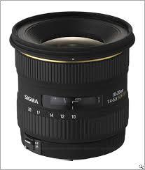 Sigma 10-20mm F4-5.6 HSM EX DC Lens(Nikon)