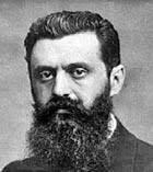 Religion ist Opium des Volkes Theodor-Herzl-portrait