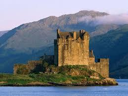 Los castillos más bonitos  Eileandonan