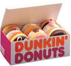 Dunkin Donuts Free Donut