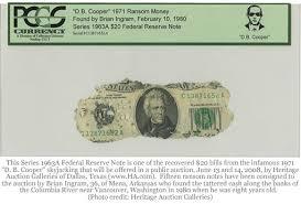 D.B. Cooper Series 1963A $20
