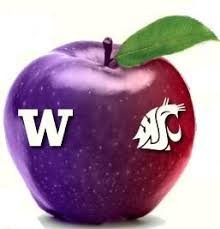 in the Apple Cup.