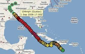 the Hurricane Tracking by