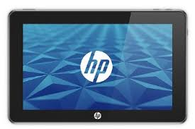 The HP tablet is a basically a