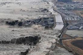 Japan earthquake: A tsunami