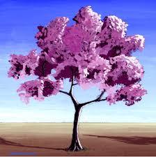 cherry tree drawing