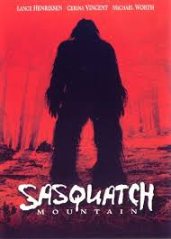 Sasquatch Mountain affiche