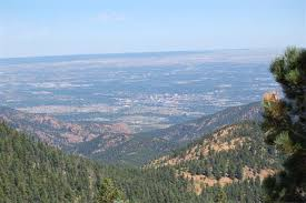 Downtown Colorado Springs is