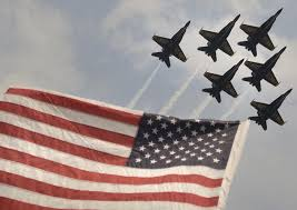 Old Glory and the Blue Angels