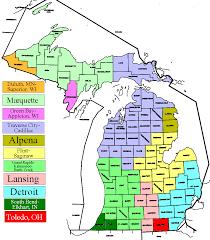 Detroit Michigan Map by Michigan Dma Map Michigan Map