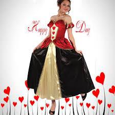 Red Queen Halloween Costume Cheap Poker Queen Costume Aliexpress Alibaba Group