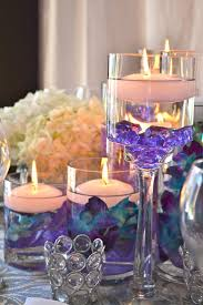 Purple Floating Candles For Centerpieces by 300 Best Candle Wedding Centerpieces Images On Pinterest