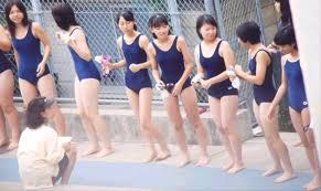 天然jkスクール水着|