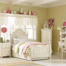 Antique White Youth Bedroom Furniture Legacy Classic Kids Charlotte Twin Low Poster Bed Wayside