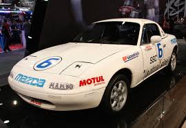 mazda mx series with a nod to its past mazda introduces new mx 5 race car