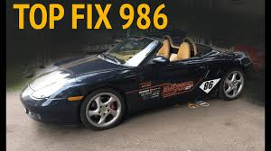 fix your broken twisted boxster convertible top 2000 porsche