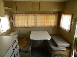 Pop Up Camper Interior Ideas by Remodeling Old Camper Trailer With Creative Inspirational In