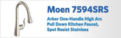 Moen Kitchen Faucet Review by Moen 7594srs Arbor Review Kitchen Faucet Reviews Pro