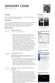 Software Developer Resume Samples   VisualCV Resume Samples Database