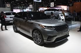 updated 2018 range rover velar completes four model lineup photo