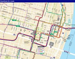 Greyhound Routes Map by System Maps Metro Transit U2013 St Louis