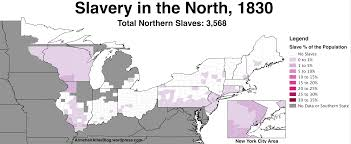 Map Of Northeast United States by Slavery In The Northern United States 1790 To 1860 Armchair Atlas