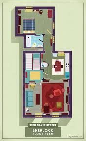 tv floorplans how the apartments in your favourite shows are