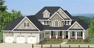 Two Story Craftsman House Plans From House Plan To House Done The Thrill Of Building Your Own Home