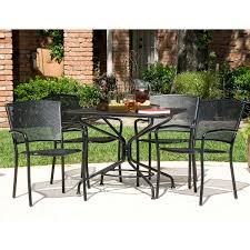 5 Pc Patio Dining Set - south bay 5 piece patio dining collection