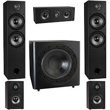 5 1 home theater system t652 5 1 home theater surround sound speaker system with 12