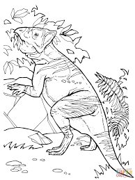 leptoceratops ceratopsian dinosaurs coloring page free printable