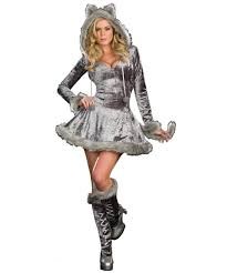 wolf plus size animal costume women costumes