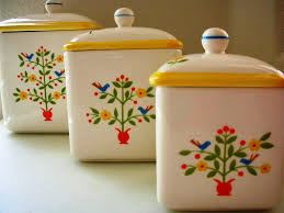 100 tin kitchen canisters french country kitchen yellow