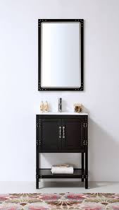 24 Inch Bathroom Vanity Combo by Abel 24 Inch Matte Black Finish Bathroom Vanity