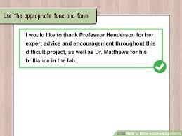 acknowledgements dissertation undergraduate