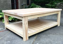 Free Woodworking Plans Round Coffee Table by Diy Coffee Table Free Plans Diy Projects Pinterest Diy