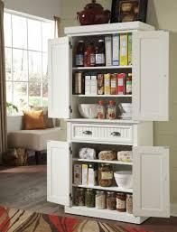 dazzling tall kitchen pantry storage cabinet on rustic hardwood