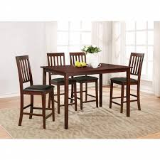 Five Piece Dining Room Sets Essential Home Cayman 5 Piece High Top Dining Set Shop Your Way