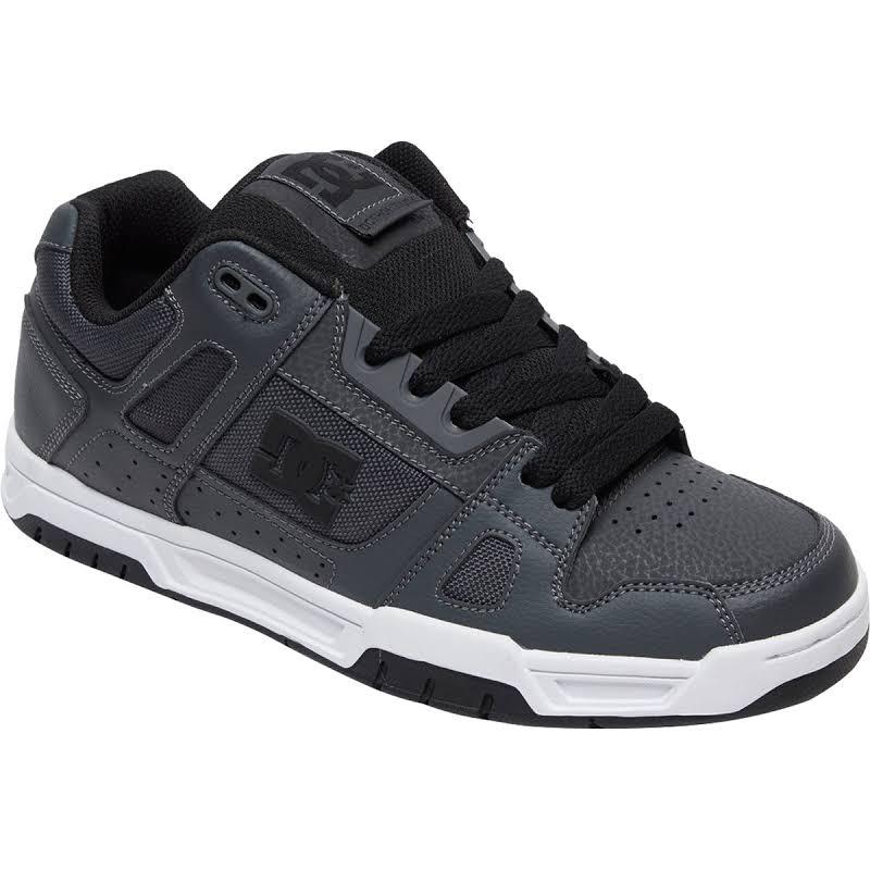 DC Stag Skate Shoes Black, 11