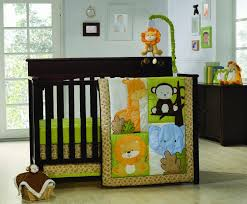 Monkey Crib Set Baby Nursery Engaging Image Of Safari Baby Nursery Room