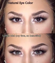 white contact lenses halloween solotica solflex in mel on dark brown eyes solflex series is
