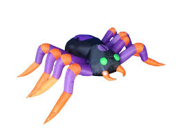Inflatable Halloween Train by Bzb Goods 8 Foot Long Halloween Inflatable Spider Decoration