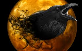 orange halloween hd background 106 raven hd wallpapers backgrounds wallpaper abyss