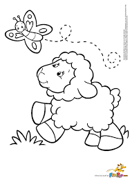 sheep coloring page olegandreev me