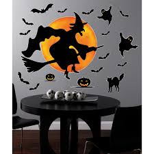 Halloween Witch Craft Ideas by Halloween Witch Giant Wall Decals Halloween Stuff Pinterest